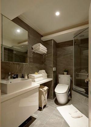 119平米现代简约风格三室两厅室内装修效果图