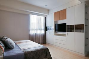 85平米现代风格精致两室两厅室内设计效果图