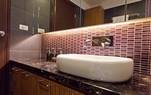 现代风格时尚三室两厅室内设计装修效果图案例