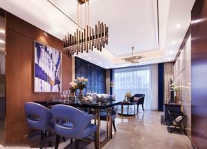 新古典主义风格低调奢华餐厅装修实景图