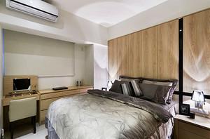 新中式风格简单典雅两室两厅室内装修效果图