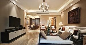 120平米中式古典精致室内设计装修效果图