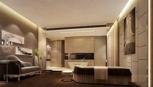 简欧风格精致美容院包厢设计装修效果图