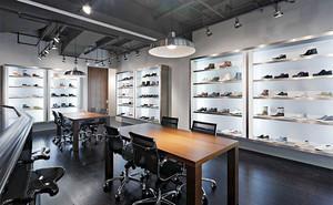 55平米现代风格鞋店装修效果图