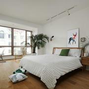 北欧风格简单轻松卧室装修效果图