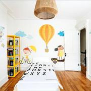 现代简约风格精美儿童房设计装修效果图