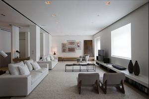 后现代风格极简主义大户型室内设计装修效果图