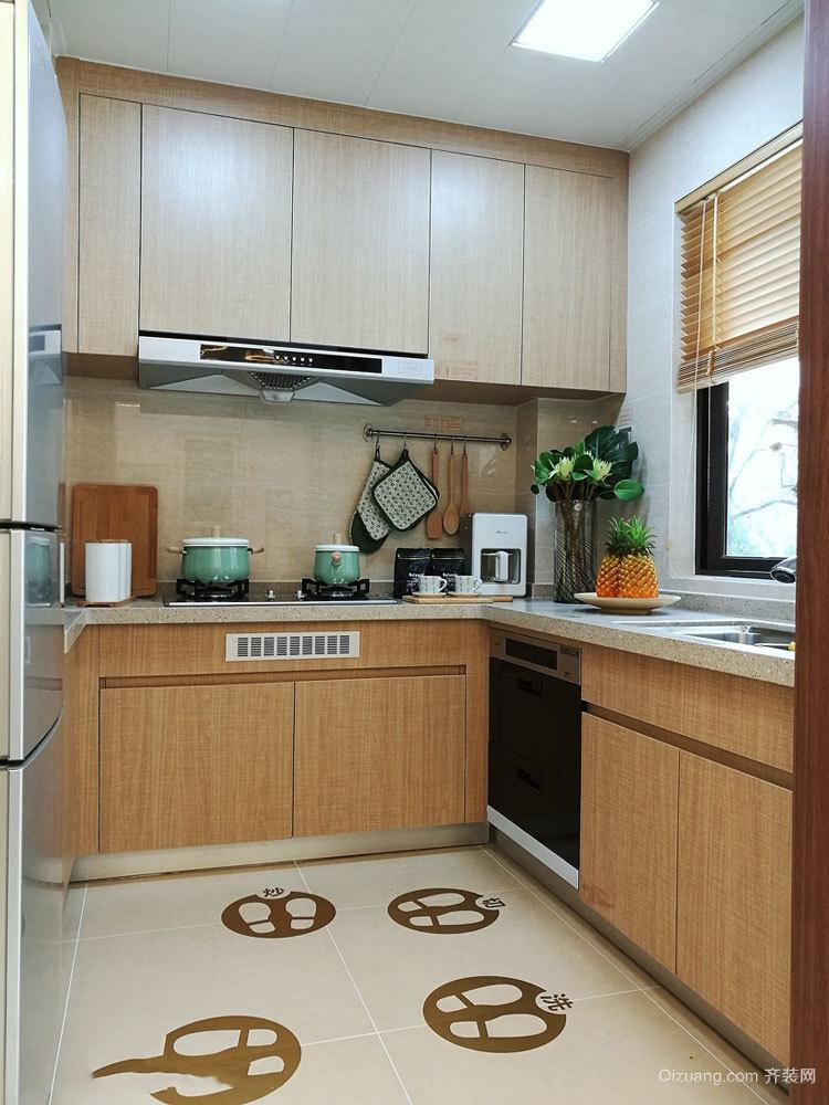 10平米现代简约风格厨房装修效果图赏析