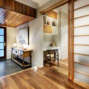 日式风格入户玄关设计装修效果图