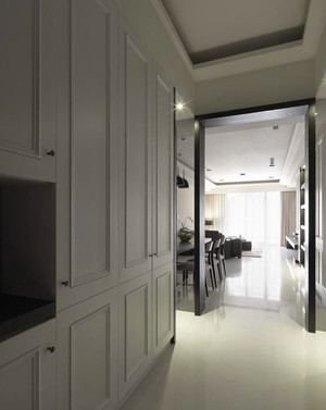 120平米现代风格都市时尚室内装修效果图赏析