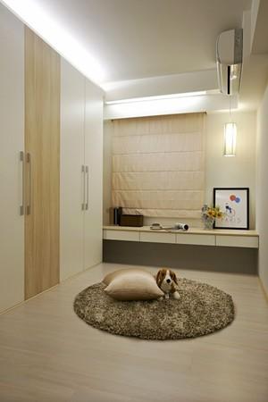 67平米现代简约风格一居室室内设计装修效果图