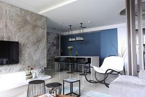 现代风格精装四室两厅室内装修效果图案例