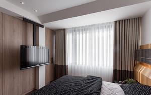 90平米现代风格棕色室内设计装修效果图