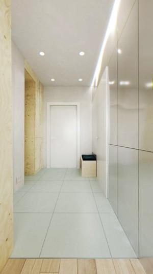 40平米现代简约小型单身公寓装修效果图