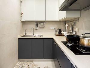 现代简约风格小户型厨房设计装修效果图