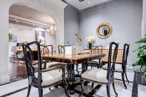 新古典主义风格大户型餐厅设计装修效果图赏析