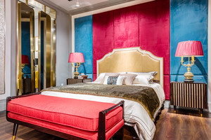 新古典主义风格奢华精致卧室装修效果图