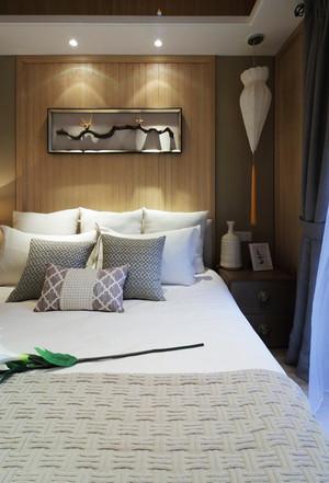 118平米新中式风格禅意三室两厅室内装修效果图