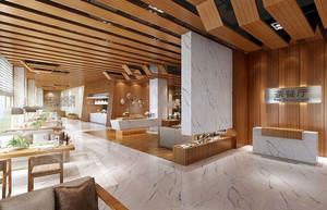 现代风格茶餐厅装修效果图
