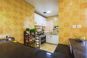 混搭风格小清新两室两厅室内设计装修效果图