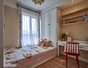 20平米美式风格精致儿童房装修效果图