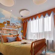 美式风格暖色温馨儿童房装修效果图赏析