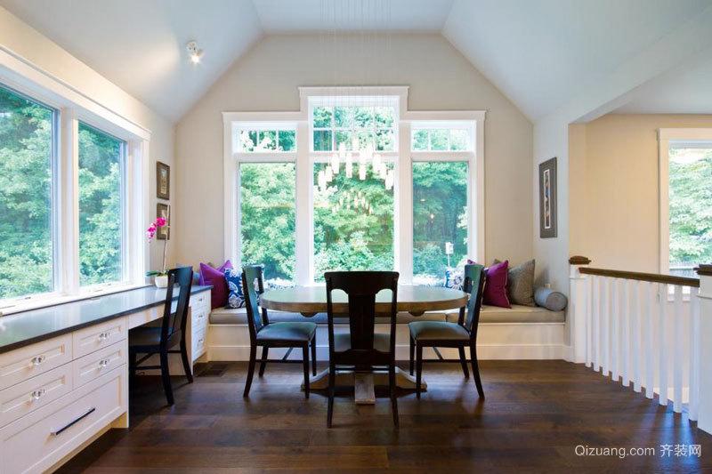 欧式风格别墅精美飘窗设计装修效果图赏析