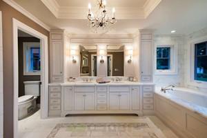 欧式风格大户型精美豪华卫生间装修效果图