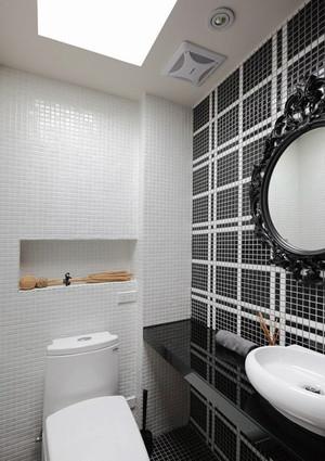140平米现代简约风格复式楼室内装修效果图