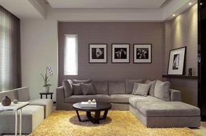 84平米现代简约风格低调精致两室两厅装修效果图