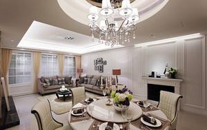 新古典风格低调精美大户型室内设计装修效果图