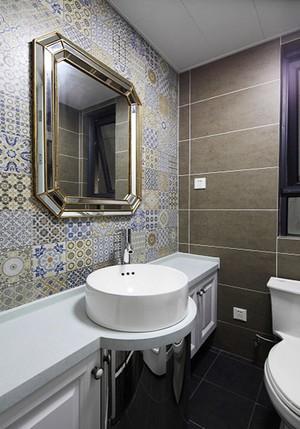 中式混搭风格时尚两室两厅室内设计装修效果图