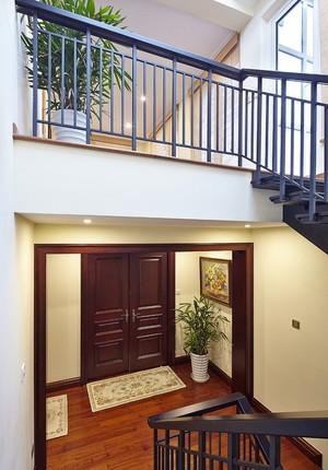 中式风格别墅玄关设计装修效果图