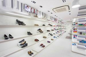 简约风格鞋店设计装修效果图