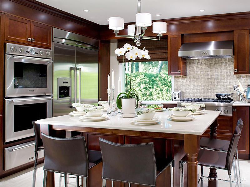 现代风格精致厨房装修效果图大全