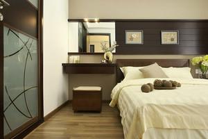 东南亚风格简约两室两厅室内装修效果图案例
