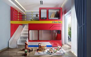 现代风格时尚创意儿童房装修效果图赏析