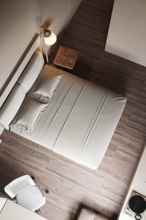 48平米后现代风格时尚单身公寓装修效果图