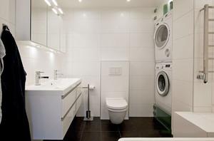 现代简约风格精致卫生间设计装修实景图