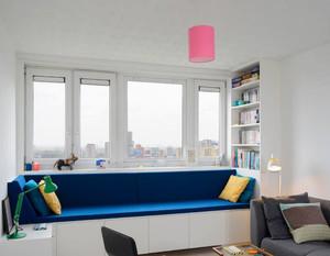 现代简约风格时尚飘窗设计装修效果图