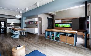 120平米现代风格原宿风时尚室内装修效果图赏析