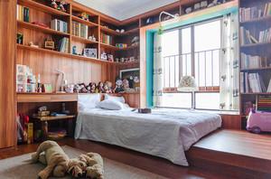 现代风格时尚榻榻米儿童房装修效果图