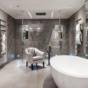 现代风格大户型卫生间设计装修效果图赏析