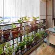 现代风格精致阳台花园装修效果图赏析
