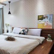 宜家风格两居室主卧室装修效果图赏析