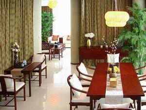 中式风格精致复式楼室内装修效果图赏析