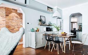 北欧风格简约小户型餐厅装修效果图