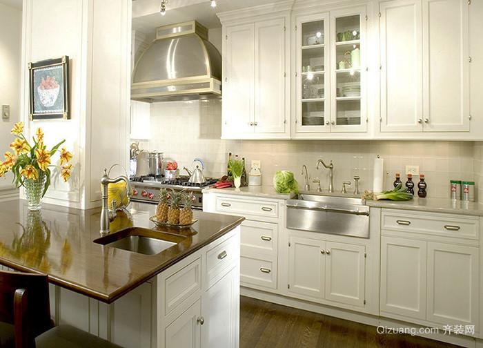美式风格精致厨房装修效果图赏析