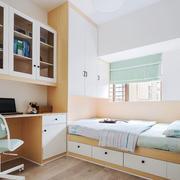 现代简约榻榻米卧室装修效果图赏析