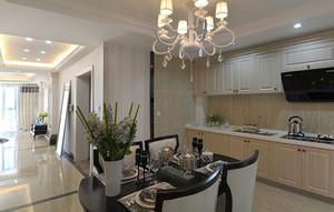 欧式风格精美奢华两室两厅室内装修效果图